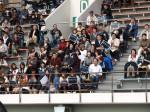 第89回全国高校ラグビー大会東京都予選準決勝戦応援風景