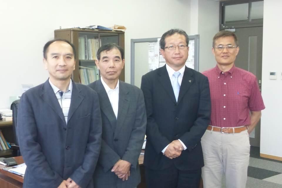 仙田三鷹高校校長を表敬訪問