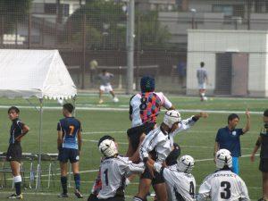 平成29年度東京都中学校ラグビー秋季大会予選