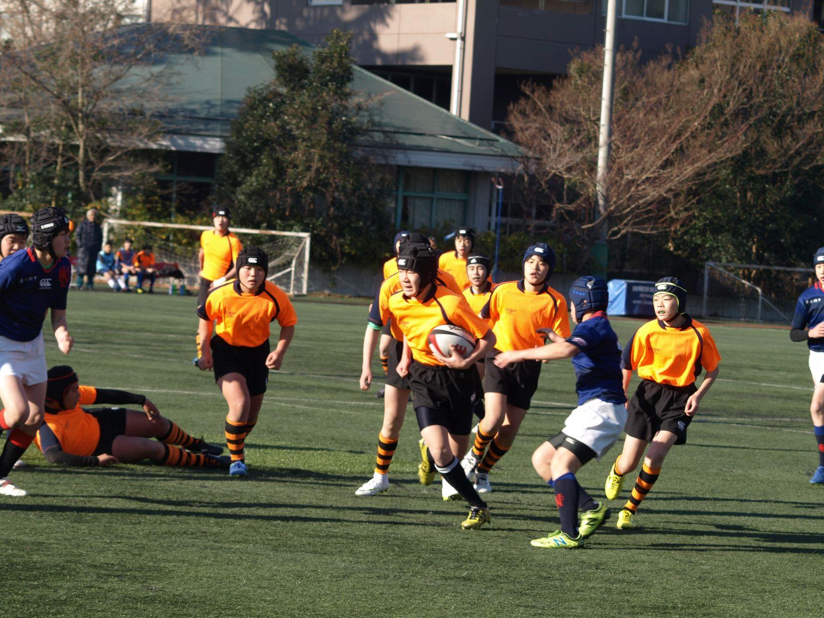 2018年度東京都中学校ラグビーフットボール新人大会