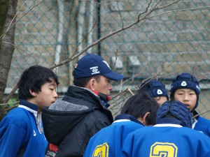 東京都中学校ラグビー大会2015新人大会
