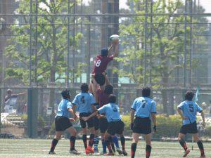 平成29年度東京都中学校ラグビー春季大会(神代中戦)