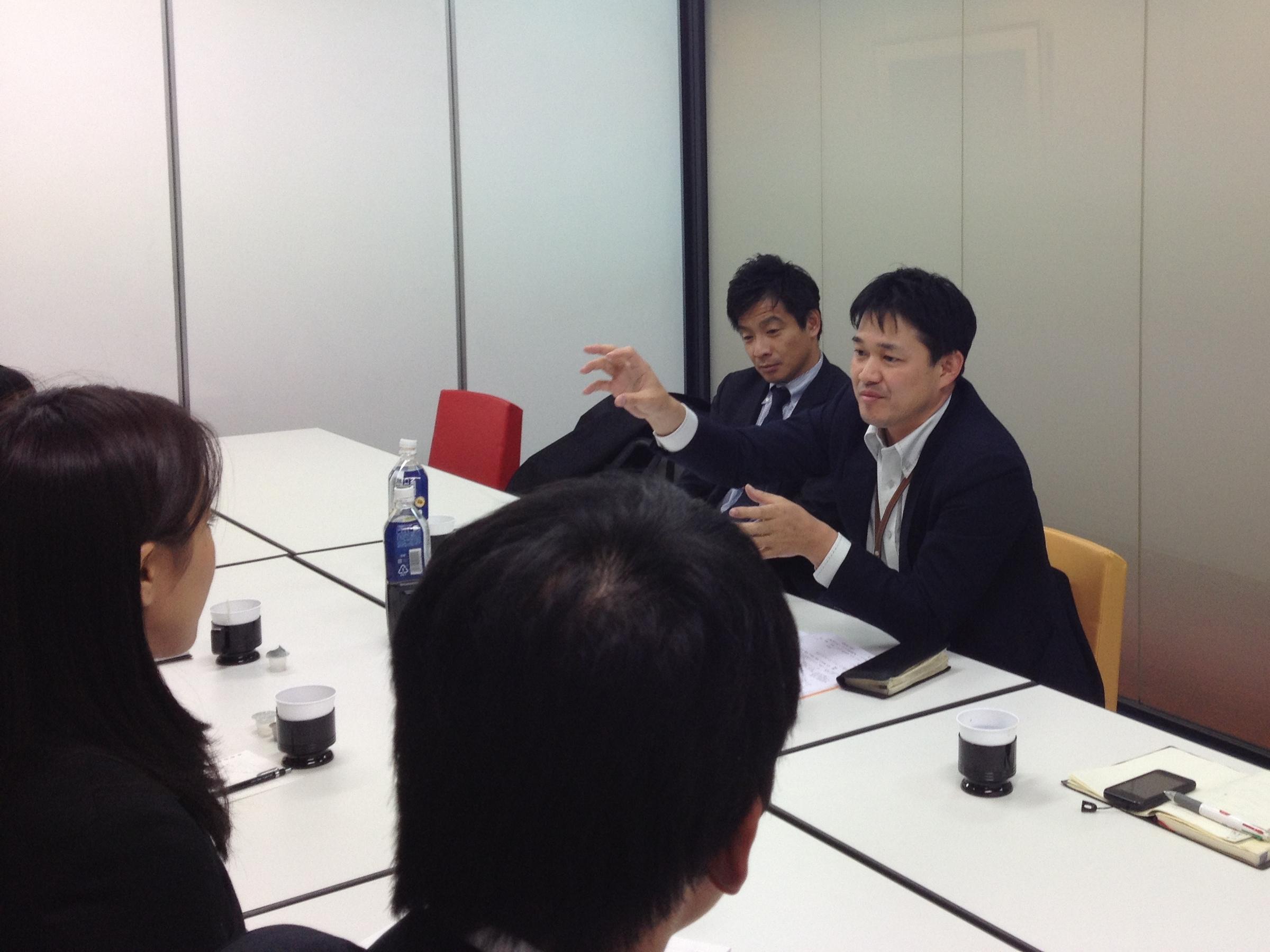 就職相談会2012年12月