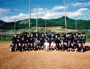 1988年8月菅平にて